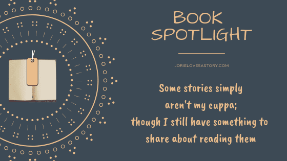 Book Spotlight banner created by Jorie in Canva