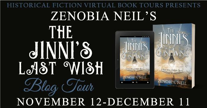 The Jinni's Last Wish blog tour via HFVBTs