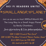 #smallangryplanet RAL banner created by Jorie in Canva