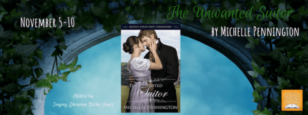 The Unwanted Suitor blog tour via SLB Tours