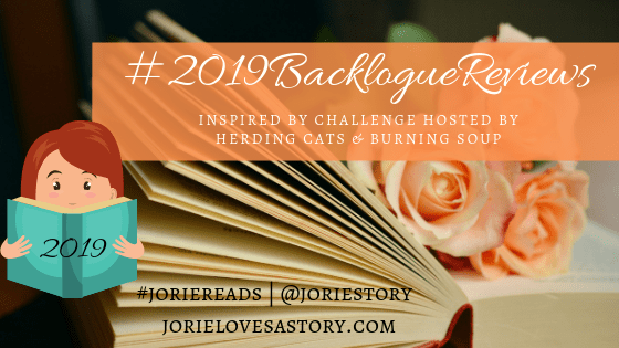 2019 Backlogue Reviews banner created by Jorie in Canva.