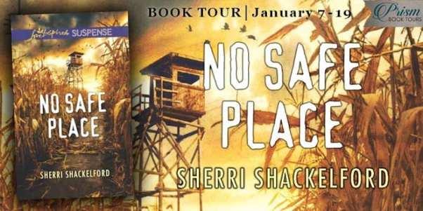 No Safe Place blog tour via Prism Book Tours