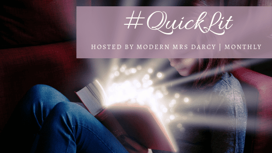 #QuickLit Meme banner created by Jorie in Canva.