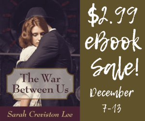 The War Between Us Ebook Sale badge provided by HFVBTs and is used with permission.