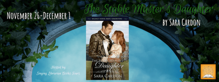 The Stable Master's Daughter blog tour via SLB Tours