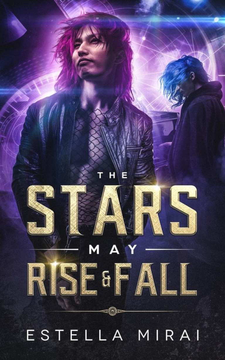 "#SaturdaysAreBookish | feat. @SatBookChat's 12th January guest author Estella Mirai | Book Review of ""The Stars May Rise and Fall"" (a re-telling of ""Phantom of the Opera"" from an m/m romantic POV)"