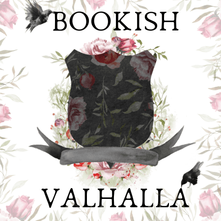 Bookish Valhalla blog badge is being used with permission of the blogger Ari Augustine.