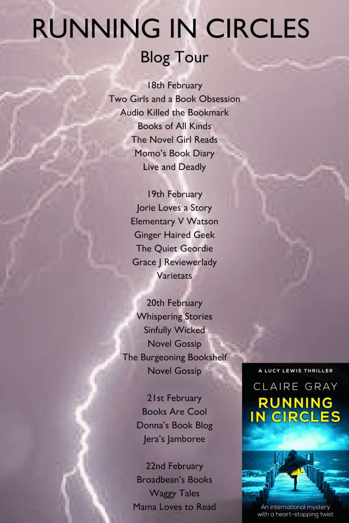 Running in Circles blog tour via Sapere Books