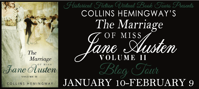 The Marriage of Miss Jane Austen blog tour via HFVBTs