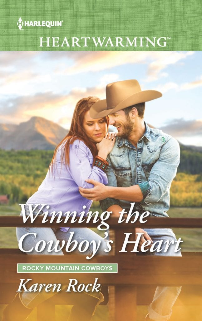 Winning the Cowboy's Heart by Karen Rock