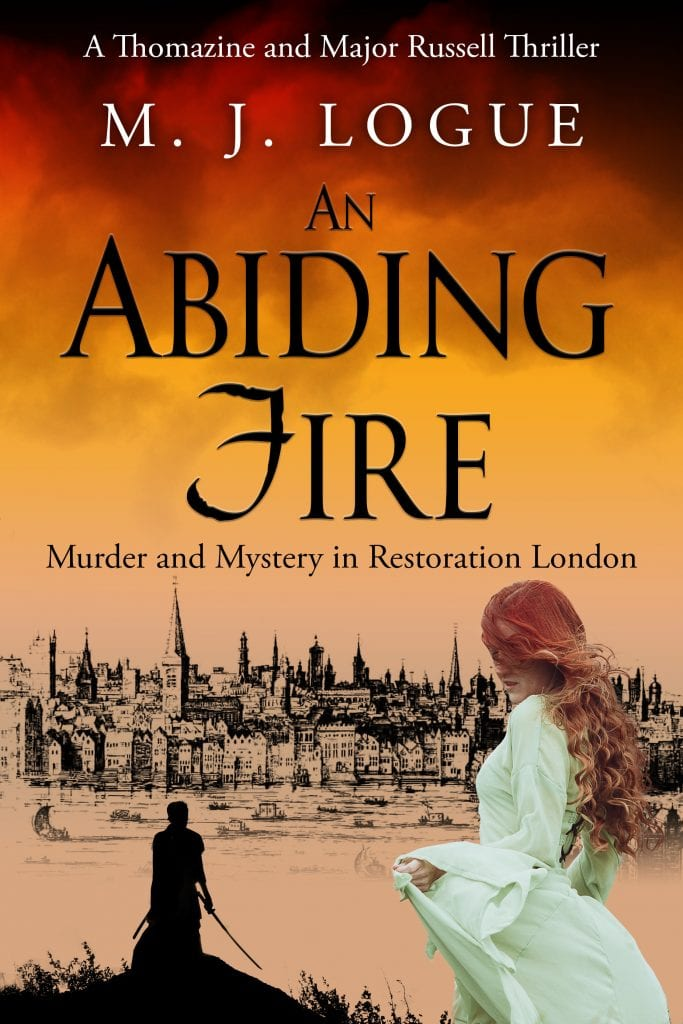 "#SaturdaysAreBookish Book Review [during #FraterfestRAT] | ""An Abiding Fire"" (Book One: Thomazine and Major Russell #Thrillers) by M.J. Logue [#SatBookChat feat. guest, 12 October!]"