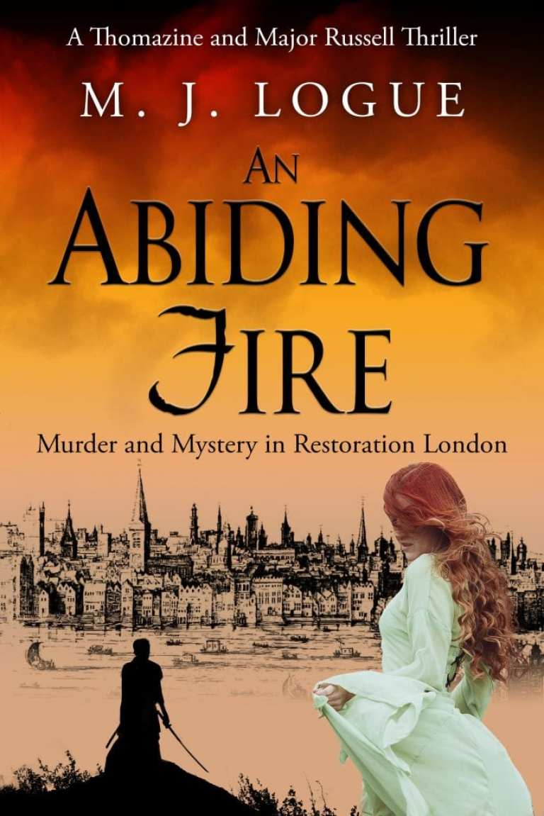 "Author Interview | #JorieReads a healthy and eclectic array of #HistFic and Historical Thrillers which is how the story ""An Abiding Fire"" caught her eye! Conversing with the writer M.J. Logue"