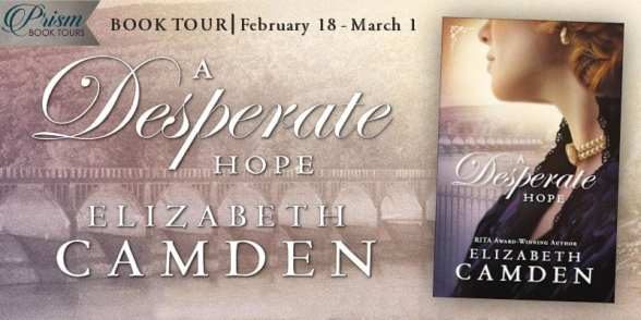 A Desperate Hope blog tour via Prism Book Tours