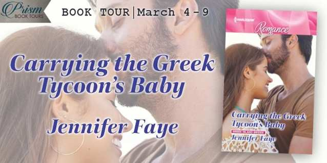 Carrying the Greek Tycoon's Baby blog tour via Prism Book Tours.
