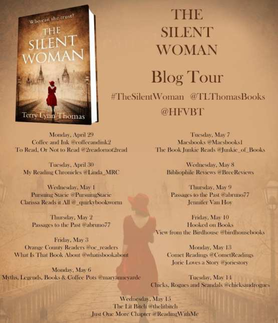 The Silent Woman blog tour via HFVBTs