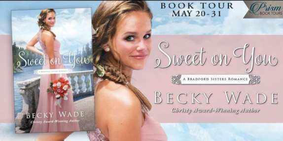 Sweet On You blog tour banner provided by Prism Book Tours