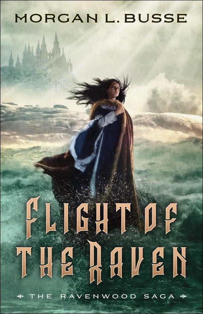 "From #blogmas to #WyrdAndWonder | #JorieReads the Ravenwood Saga by Morgan L. Busse – ""Mark of the Raven"" (book one) & ""Flight of the Raven (book two) whilst delving into #INSPYFantasy for the first time!"