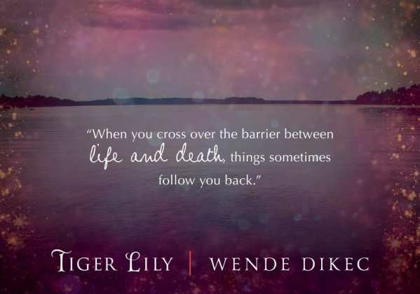 Tiger Lily teaser banner provided by Wende Dikec aka Abigail Drake
