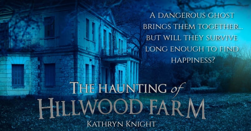 The Haunting of Hillwood Farm promo banner provided by Audiobookworm Promotions.