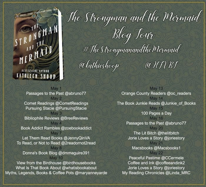 The Strongman and the Mermaid blog tour via HFVBTs