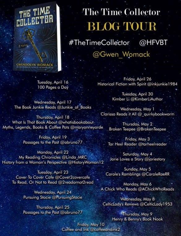 Time Collector blog tour via HFVBTs