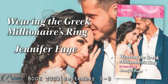 Wearing the Greek Millionaire's Ring blog tour via Prism Book Tours