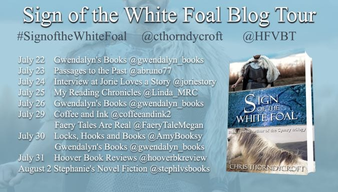 Sign of the White Foal blog tour via HFVBTs