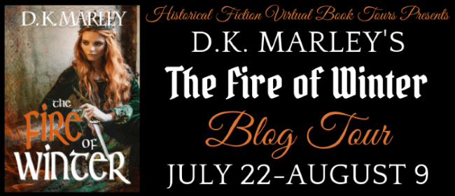 The Fire of Winter blog tour via HFVBTs