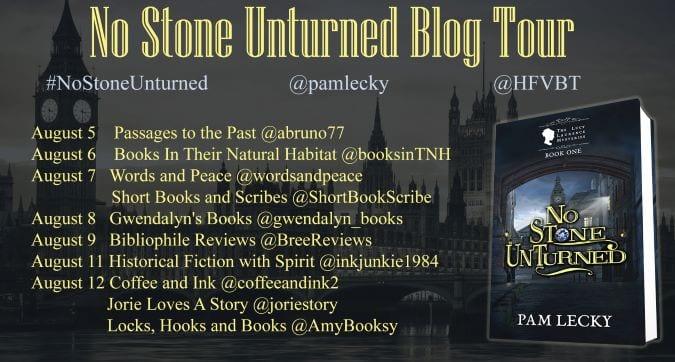 No Stone Unturned blog tour via HFVBTs