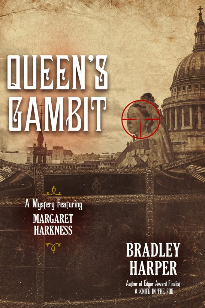 "Book Review | ""Queen's Gambit"" (Margaret Harkness and Arthur Conan Doyle series, Book Two) by Bradley Harper In this sequel to ""A Knife in the Fog"" Doyle is not the centre of focus, Margaret Harkness takes the lead!"