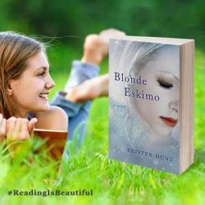 Blonde Eskimo banner for #ReadingIsBeautiful 2015 by BookSparks.