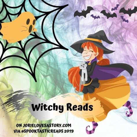 #WitchyReads banner created by Jorie via Canva.