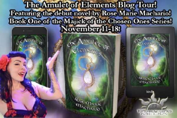 Amulet of Elements blog tour via Tomorrow Comes Media