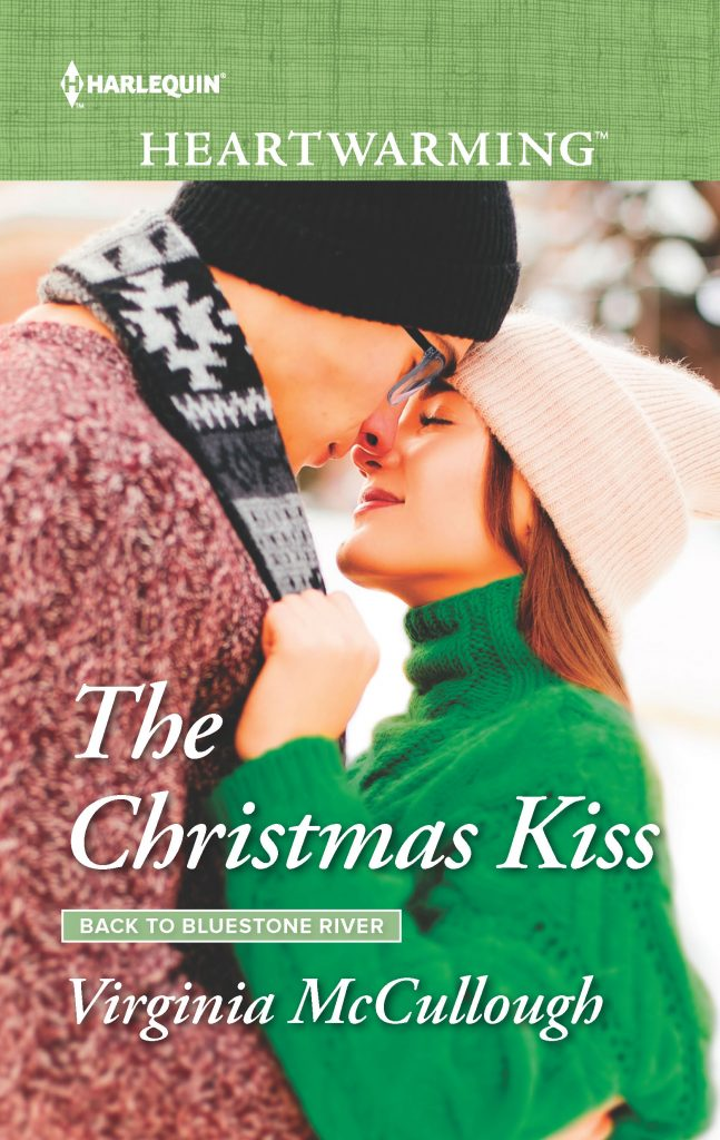 "A #blogmas #HarlequinHeartwarming Blog Book Tour | ""The Christmas Kiss"" (Back to Bluestone River series, Book Two) by Virginia McCullough"