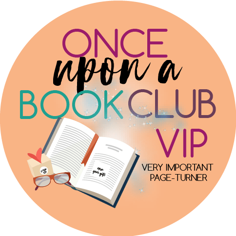 Once Upon A Book Club VIP badge provided by onceuponabookclub.com and is used with permission.