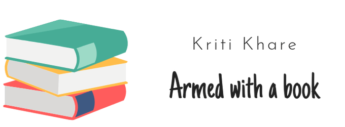 Armed with a Book banner provided by Kriti and is used with permission.
