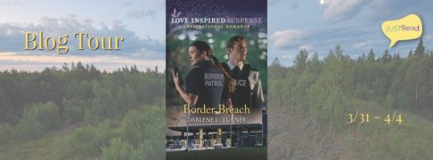 Border Breach blog tour banner provided by JustRead Publicity Tours.