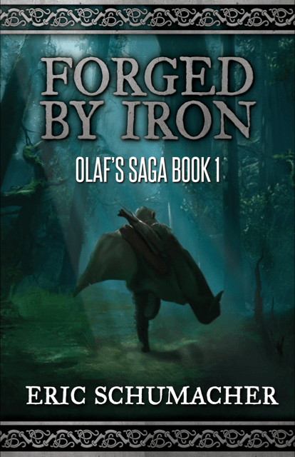 "An #IndieApril Author Interview | in conversation with Eric Schumacher discussing #Vikings, Olaf and his novel ""Forged by Iron"" (Book One: Olaf's Saga)"