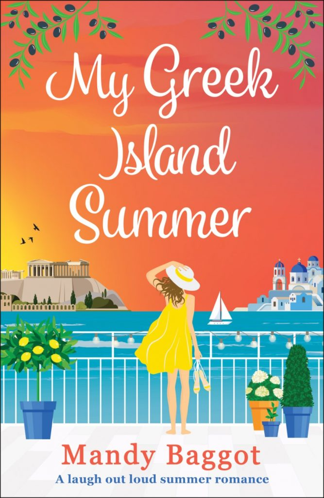 "Author Interview | in conversation with Mandy Baggot about ""My Greek Island Summer""!"