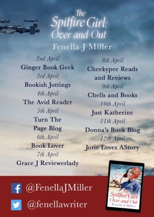 The Spitfire Girl Blog Tour Banner provided by Head of Zeus and is used with permission.
