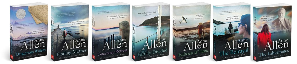 The Guernsey Novels series graphic provided by Love Book Tours and is used with permission.