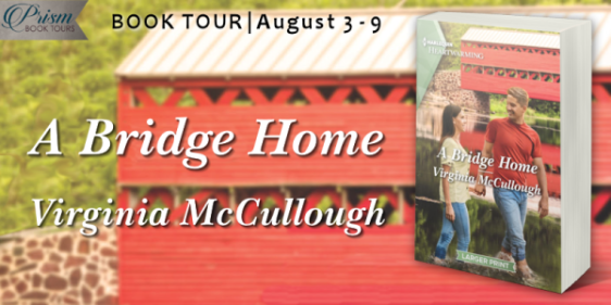 A Bridge Home blog tour banner provided by Prism Book Tours and is used with permission.