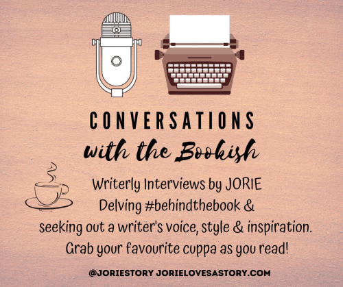 Conversations with the Bookish badge created by Jorie in Canva. Updated version July 2020.
