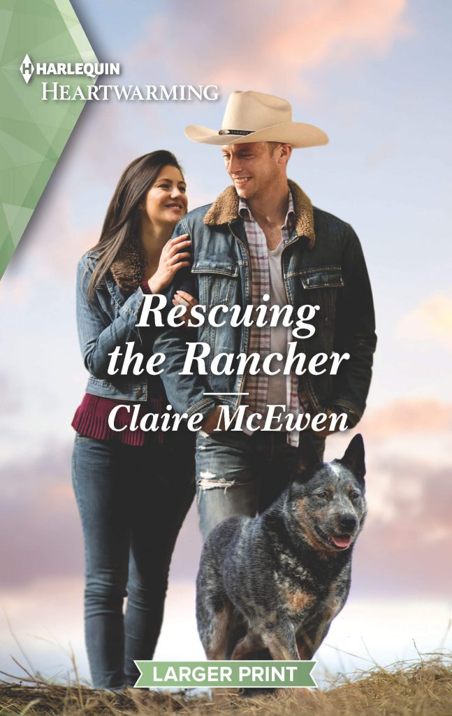 "A #HarlequinHeartwarming #RomanceTuesdays | Wildfire comes to Shelter Creek! within the pages of Clarie McEwen's ""Rescuing the Rancher""!"