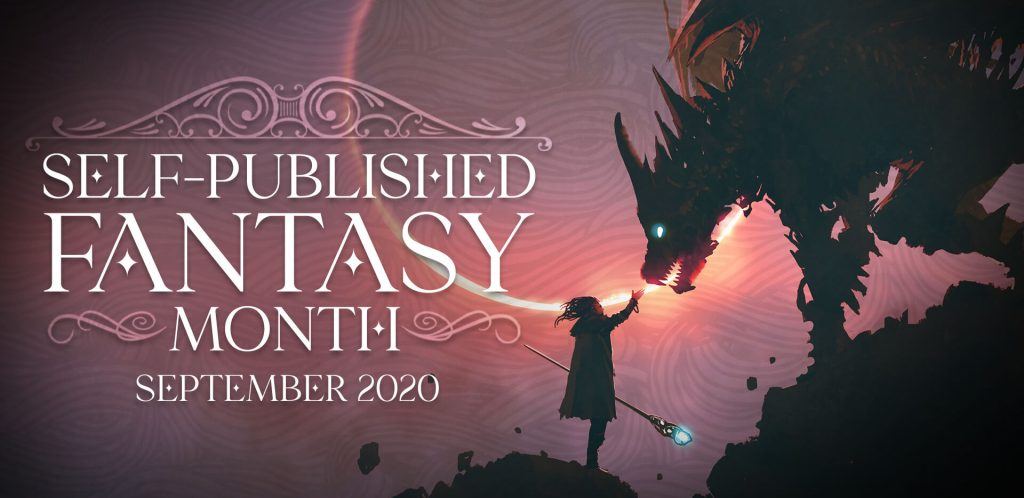 Self Published Fantasy Month banner provided by Self Published Fantasy Month and is used with permission.