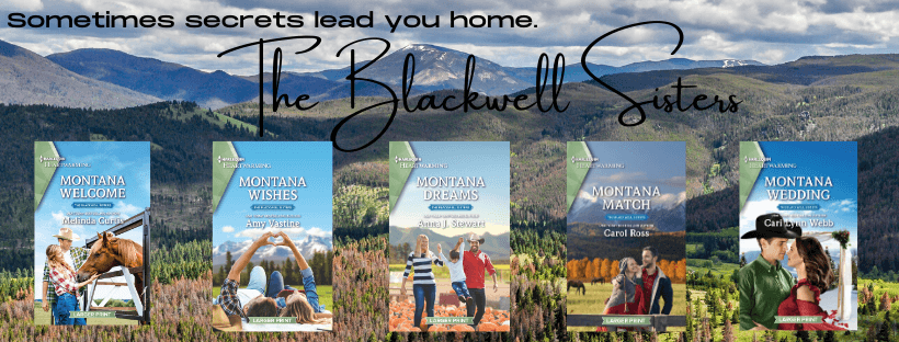 Blackwell Sisters series collage of covers provided by Anna J. Stewart and is used with permission.
