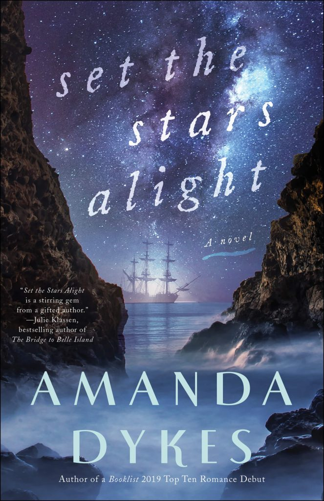 "An #INSPY Book Spotlight with Notes + Extract | featuring ""Set the Stars Alight"" by Amanda Dykes"