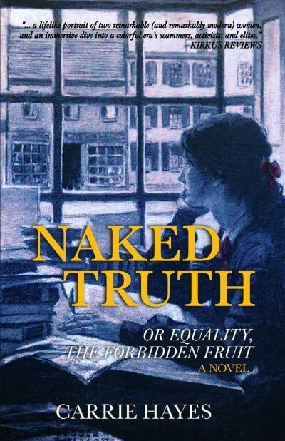 "#HistoricalMondays | featuring a delightful Q&A with Hayes and Jorie's reactions to her latest #25PagePreview of ""Naked Truth: or Equality, The Forbidden Fruit"" by Carrie Hayes"