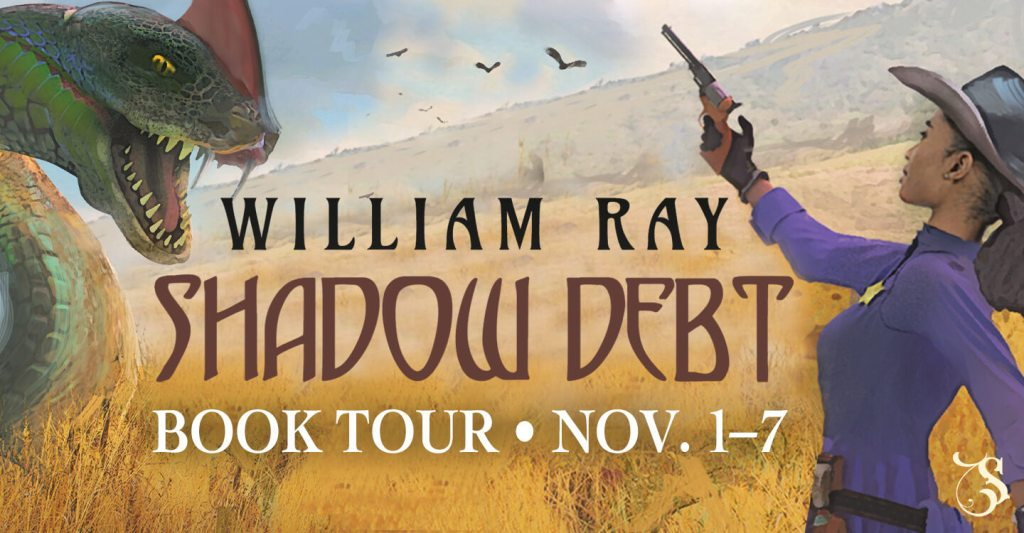 Shadow Debt blog tour banner provided by Storytellers on Tour and is used with permission.