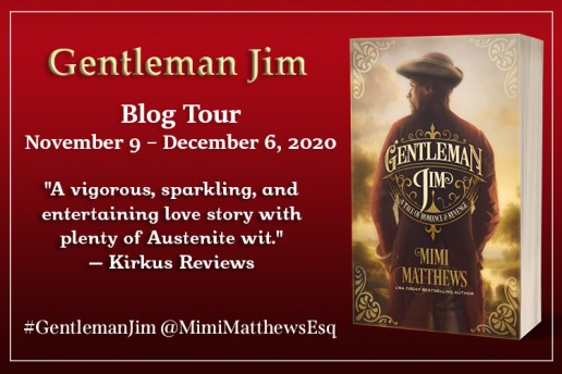 Gentleman Jim blog tour banner provided by Austenprose and is used with permission.